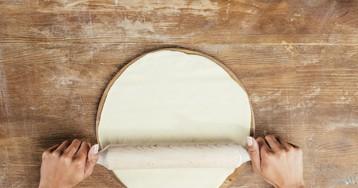 Универсальное дрожжевое тесто для пиццы