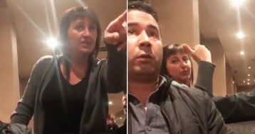 Watch These Men Calmly Respond to a Woman's Racist Tirade at Denny's