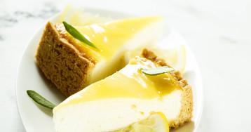 Чизкейк с лимонным курдом – объеденье!