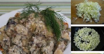 Пошаговый фото-рецепт: Грибное рагу