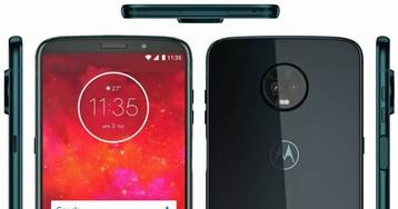 Imagem vazada do Moto Z3 Play revela que o leitor de digitais está na lateral