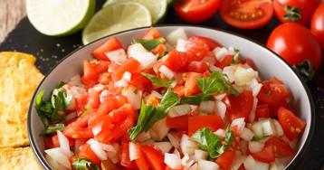 Мексиканский соус-сальса «Пико-де-гальо»
