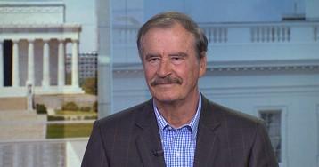 Mexico's Fox Says Trump Has Been Stubborn on Nafta