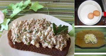 Закуска из печени трески на скорую руку: пошаговый фото рецепт