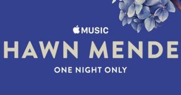 Shawn Mendes realizará show e entrevista especial para o Apple Music