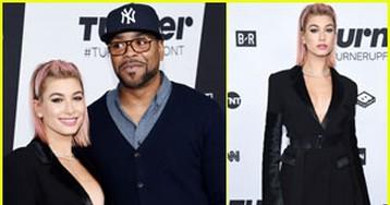 Hailey Baldwin & Method Man Rep 'Drop the Mic' at Turner Upfronts!