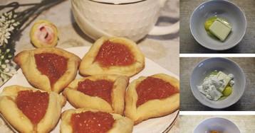 Вкусное печенье с абрикосово-апельсиновой начинкой: пошаговый фото рецепт