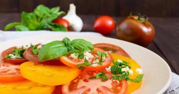 Домашние маринованные помидоры за 30 минут