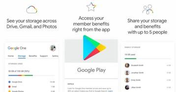 App Google One aparece na Play Store, mas serviço ainda não está ativo