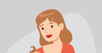 Анекдот про мамашу, кормящую грудью прямо в маршрутке