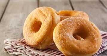 Пышные пончики на кефире за 15 минут