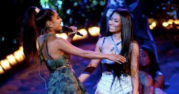 "Ariana Grande Teases Nicki Minaj Collab ""The Light Is Coming"""