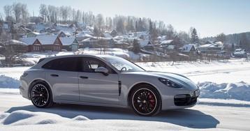 Клаудия Шиффер в русской провинции. Тест-драйв Porsche Panamera Sport Turismo