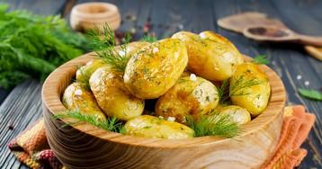 Картофель в рукаве к праздничному столу – вкусно, быстро и красиво!