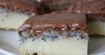 Слоеный пирог с шоколадом, маком и орехами: пошаговый фото рецепт