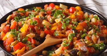 Овощное рагу «Рататуй»