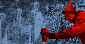 Безбожники и вандалы: история Рюриковичей на стенах Софийского собора