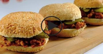 Видео-рецепт: Самый популярный в Америке бургер