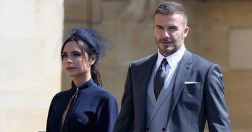 Beckhams donate royal wedding outfits to fund for Manchester attack