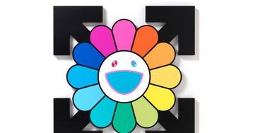 Virgil Abloh & Takashi Murakami Debut 'Technicolor 2' Exhibit