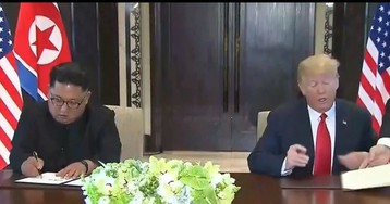 Трамп и Ким Чен Ын подписали документ о денуклеаризации