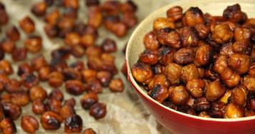 Идеальная закуска: жареный пряный турецкий горох