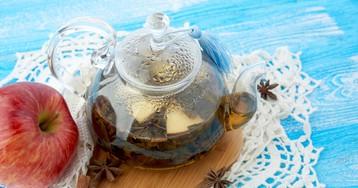 Ароматный яблочный чай