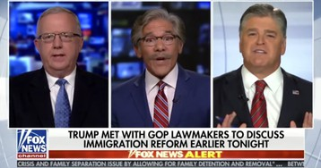 "Geraldo blows up at Hannity: ""When did we become the party of child abuse?!"""