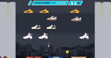 'Sneaker Invaders' Is a Footwear Twist on the Classic Arcade Game