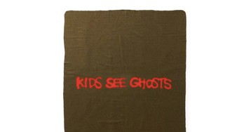 Kanye West & Kid Cudi's 'Kids See Ghosts' Military Blanket Has Already Sold Out