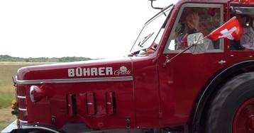 Трактора, велосипеды и даже ванны: какие средства передвижения выбирают фанаты ЧМ-18