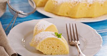 Лимонный манник на кефире