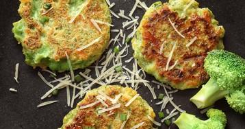 Вкусные и полезные оладьи из брокколи