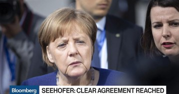 German Chancellor Clears Hurdle With Coalition Deal on Migrants