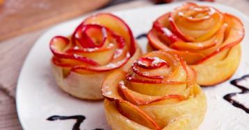 20 простых десертов из слоёного теста