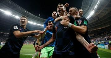 Хорваты обыграли англичан и впервые в истории вышли в финал ЧМ