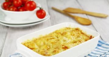 Запеканка из кабачков и сыра