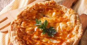 Аппетиный куриный пирог