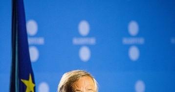 «Пьяный?!»: поведение на саммите НАТО главы Еврокомиссии Юнкера удивило
