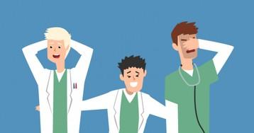 Анекдот про трёх врачей, ставивших диагноз одному человеку