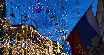 Москва переживает окончание праздника