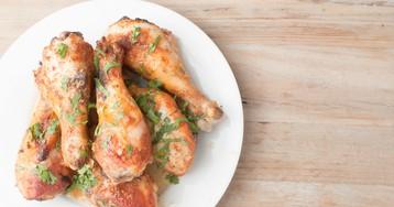 Аппетитные куриные ножки в пивном рассоле