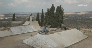 Meet the People Building a Skate Park for Kids in the West Bank