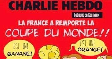 Журнал Charlie Hebdo высмеял сборную Франции после победы на ЧМ-2018