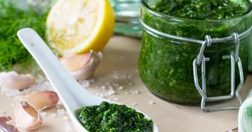 Укропный соус – супер добавка для многих блюд!
