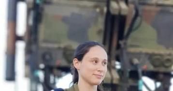 Израильская армияпоказала женщину, которая сбила сирийский «Сухой»