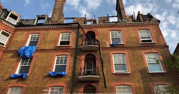 Пожежу було видно за кілька кілометрів: у Лондоні вогонь охопив розкішну будівлю