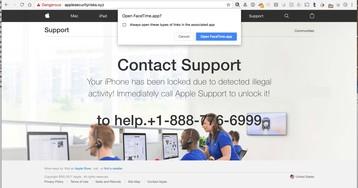 Novo golpe de phishing coloca usuário em contato com falso atendente do AppleCare