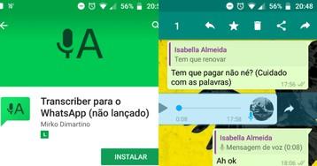 WhatsApp: saiba como converter as mensagens de áudio para texto