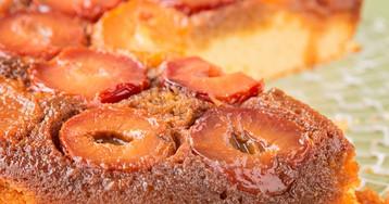 Сливовый тарт-татен или пирог-перевёртыш